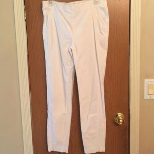 White pant by Crosby